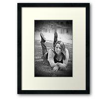 Jacqui 2 Framed Print