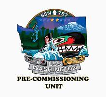 SSN-787 USS Washington Pre-commissioning Unit Crest Unisex T-Shirt
