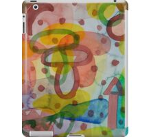 Blurry Mushroom and other Things iPad Case/Skin
