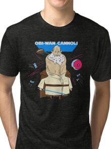 Obi-Wan Cannoli (PUN PANTRY) Tri-blend T-Shirt
