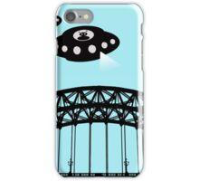 Aliens invade Newcastle iPhone Case/Skin