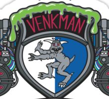 Venkman Family Crest Sticker