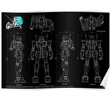 Gundam RX-78  Poster