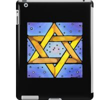 Stained Glass Star iPad Case/Skin