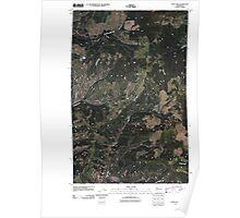USGS Topo Map Washington State WA Cody Lake 20110413 TM Poster