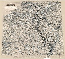 January 25 1945 World War II Twelfth Army Group Situation Map Photographic Print