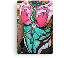 Punked Body Art - Portrait Canvas Print
