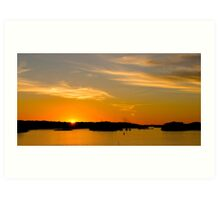 Northern Sunset Art Print