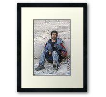 Desolate, Fes Morocco Framed Print