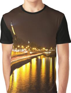 Eiffel Tower overview - panorama Graphic T-Shirt