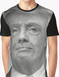 HUMP HILLARY TRUMP Morph Graphic T-Shirt