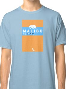 Malibu - California. Classic T-Shirt