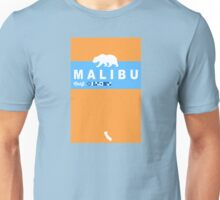 Malibu - California. Unisex T-Shirt