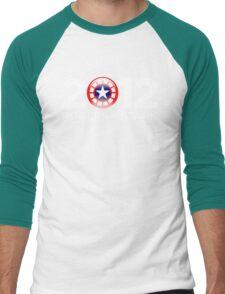 Vote Rogers & Stark 2012 (White Text) Men's Baseball ¾ T-Shirt