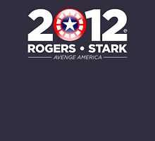 Vote Rogers & Stark 2012 (White Text) Unisex T-Shirt
