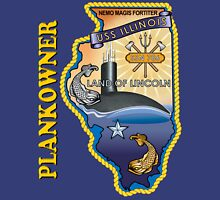 SSN-786 USS Illinois Plank Owner Crest for Dark Colors Classic T-Shirt