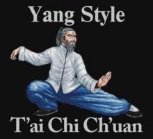 Yang T'ai Chi Ch'uan T-Shirt by AsianT-Shirts