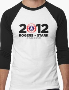 Vote Rogers & Stark 2012 (Black Text) T-Shirt