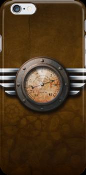 Steam Punk Gauge - iPhone Case by Christopher Herrfurth