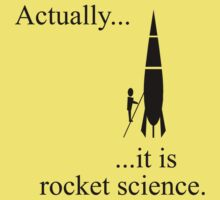 Actually... it is rocket science. Kids Clothes