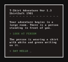 Text Adventure by vgjunk