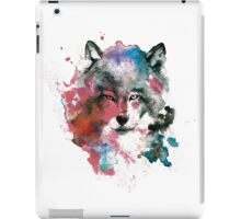 Wolf of colours iPad Case/Skin
