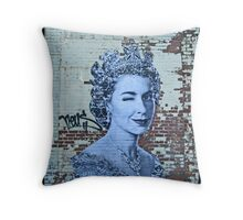 The Queen by Prefab 77 Throw Pillow