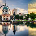 St. Louis Reflections by Gregory Ballos | gregoryballosphoto.com