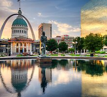 St. Louis Reflections by Gregory Ballos   gregoryballosphoto.com