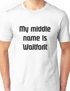 CallmeWaitforit(Black) Unisex T-Shirt