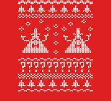Bill Cipher Ugly Xmas Sweater--White T-Shirt