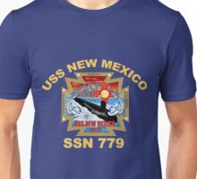 SSN-779 USS New Mexico Logo for Dark Colors Unisex T-Shirt