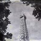 Eiffel Tower Wet Plate by iamsla