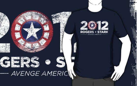 Vote Rogers & Stark 2012 (White Vintage) by Eozen