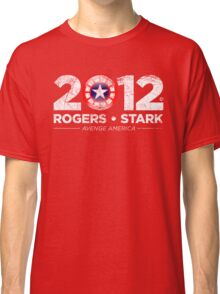 Vote Rogers & Stark 2012 (White Vintage) Classic T-Shirt
