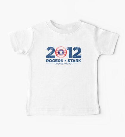 Vote Rogers & Stark 2012 (Blue Vintage) Baby Tee