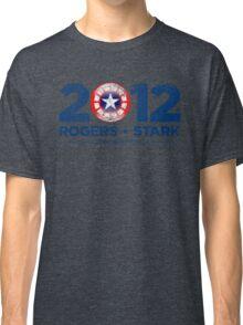 Vote Rogers & Stark 2012 (Blue Vintage) Classic T-Shirt