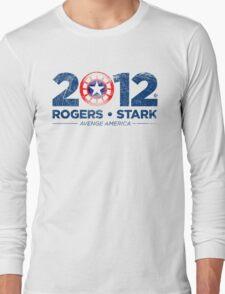 Vote Rogers & Stark 2012 (Blue Vintage) Long Sleeve T-Shirt