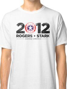 Vote Rogers & Stark 2012 (Black Vintage) Classic T-Shirt