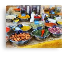 Spice Stand Canvas Print
