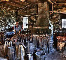 Blacksmith Shop, Sturbridge by dlosey