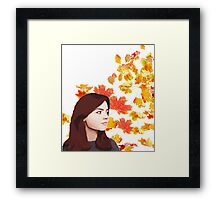 Clara Oswald: Impossible Girl Framed Print
