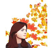 Clara Oswald: Impossible Girl Photographic Print