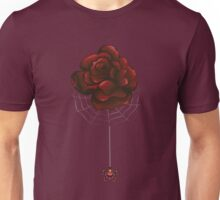 Red Rose and Spider Unisex T-Shirt
