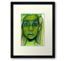 we are malachite now Framed Print