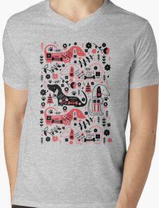 Dog Folk  Mens V-Neck T-Shirt