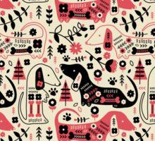 Dog Folk  Sticker