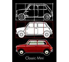 Classic Mini mark 1 Photographic Print
