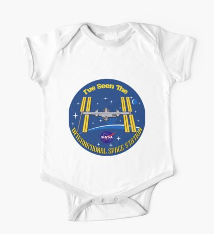 I Saw the ISS One Piece - Short Sleeve