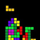 Tetris Iphone Case by connor95